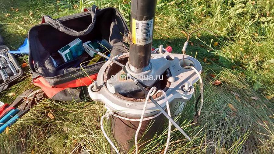 Застрял насос в скважине как достать, подъем упавших насосов, достать застрявший насос из скважины