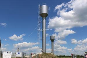 Обслуживание водонапорных башен компанией ООО «Олимп-Аква»