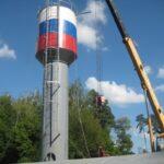 Ремонт водонапорной башни в Московской области