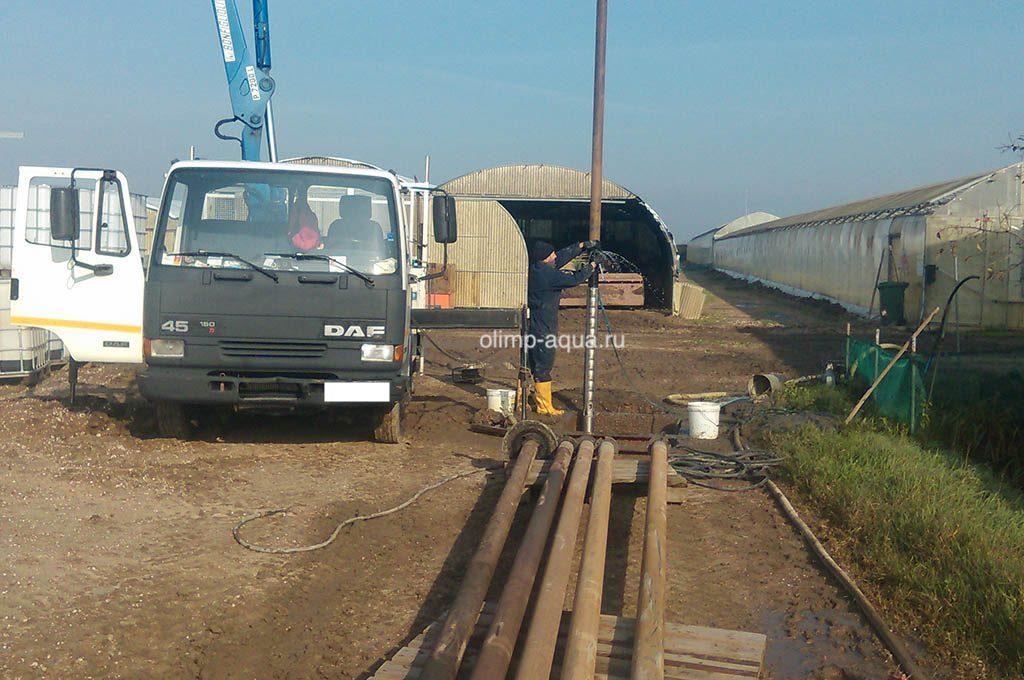 Ремонт скважины на воду в Егорьевском районе, чистка скважины Егорьевск