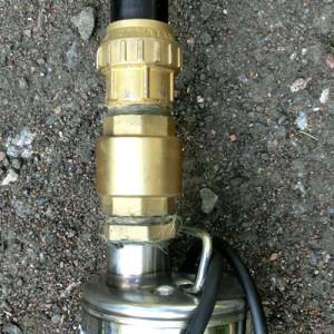 Замена обратного клапана скважинного насоса