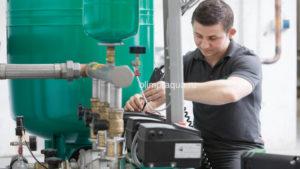 Замена гидроаккумулятора, обслуживание, ремонт гидробаков