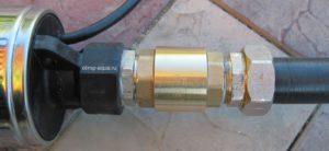 Замена обратного клапана на скважинном насосе