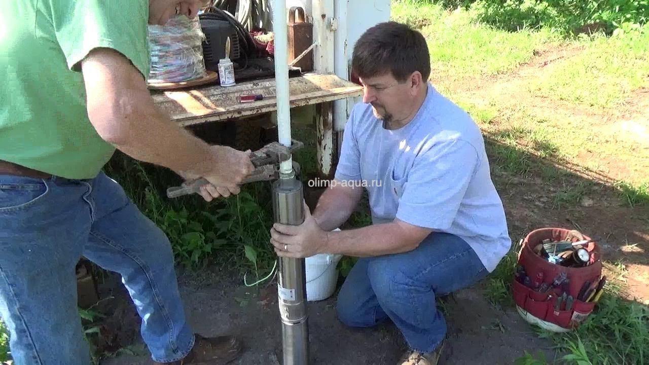 Ремонт скважины на воду в Озёрском районе, чистка скважины, очистка от ила и песка