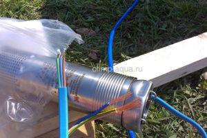 Монтаж насоса в скважину для воды